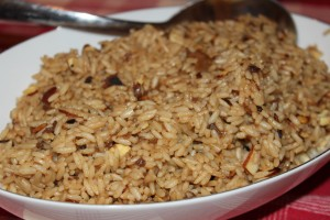 Easter 2013 - rice pilaf