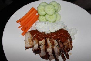 Asian Marinated Pork Steaks