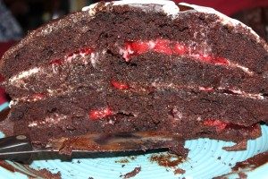Whiskey Black Forest Cake