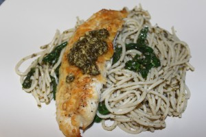 Parmesan Pesto Tilapia - Food, Fun, Whatever