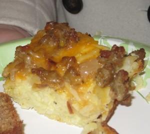 Hash Brown & Egg Casserole