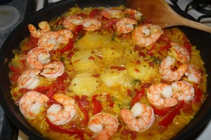 Seafood Spanish Rice - Food, Fun, Whatever !!
