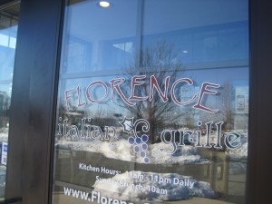 Exploring: Florence Italian Grille - Food, Fun, Whatever !!
