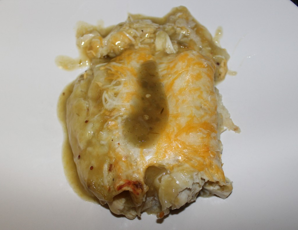 Green Chili Chicken Enchiladas - Food, Fun, Whatever !!