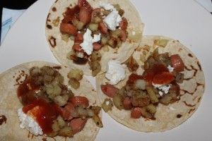 Hot Dog Hash Tacos - Food, Fun, Whatever !!
