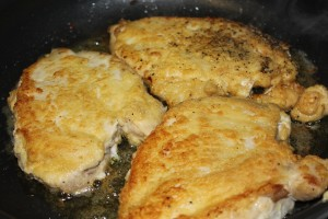 Chicken w/ mushrooms & asiago cheese - Food, Fun, Whatever !!