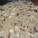 Chicken Mushroom Risotto - Food, Fun, Whatever !!