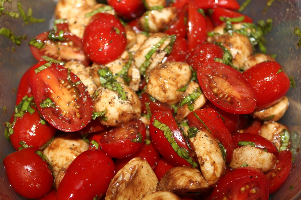 Picnic Caprese Salad - Food, Fun, Whatever !!