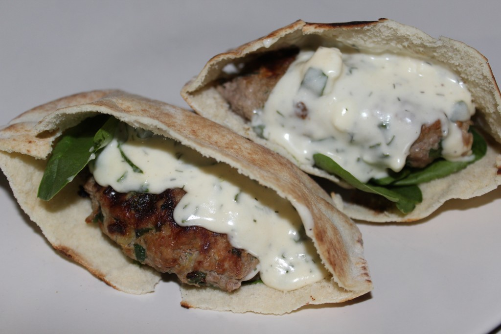 Spinach Feta Chicken Burger - Food, Fun, Whatever !!