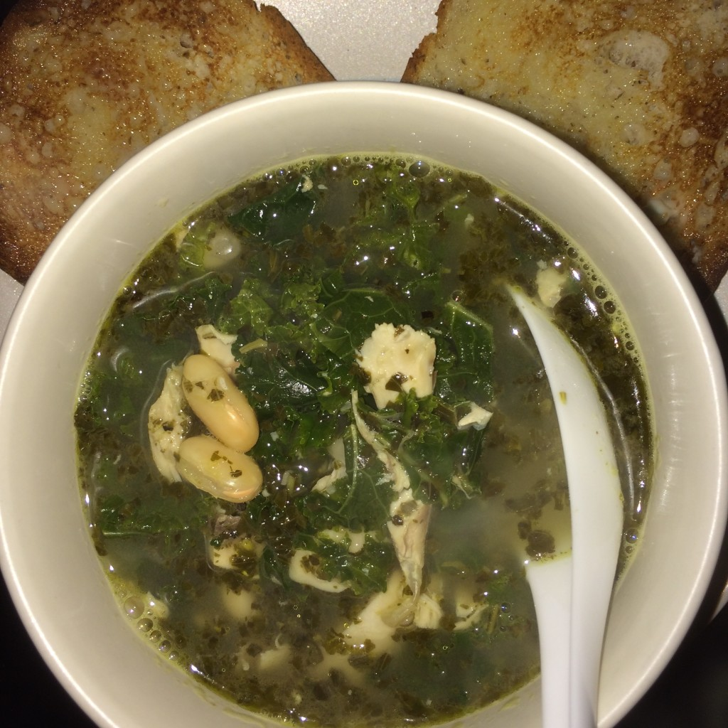 Kale Bean Chicken Soup - Food, Fun, Whatever !!