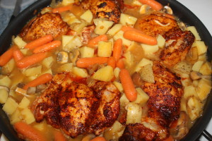 One-Pot Paprika Chicken - Food, Fun, Whatever !!
