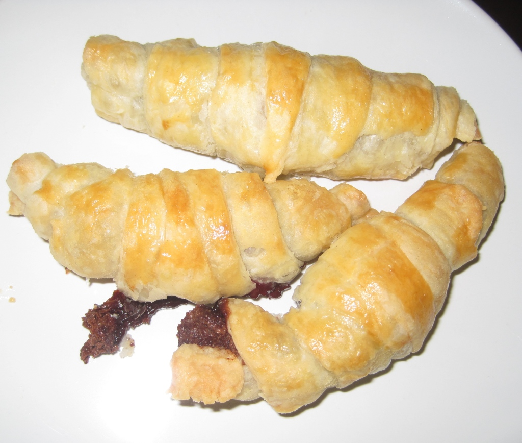Chocolate Raspberry Croissants - Food, Fun, Whatever !!