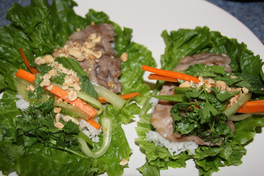 Thai Lettuce Wraps - Food, Fun, Whatever !!