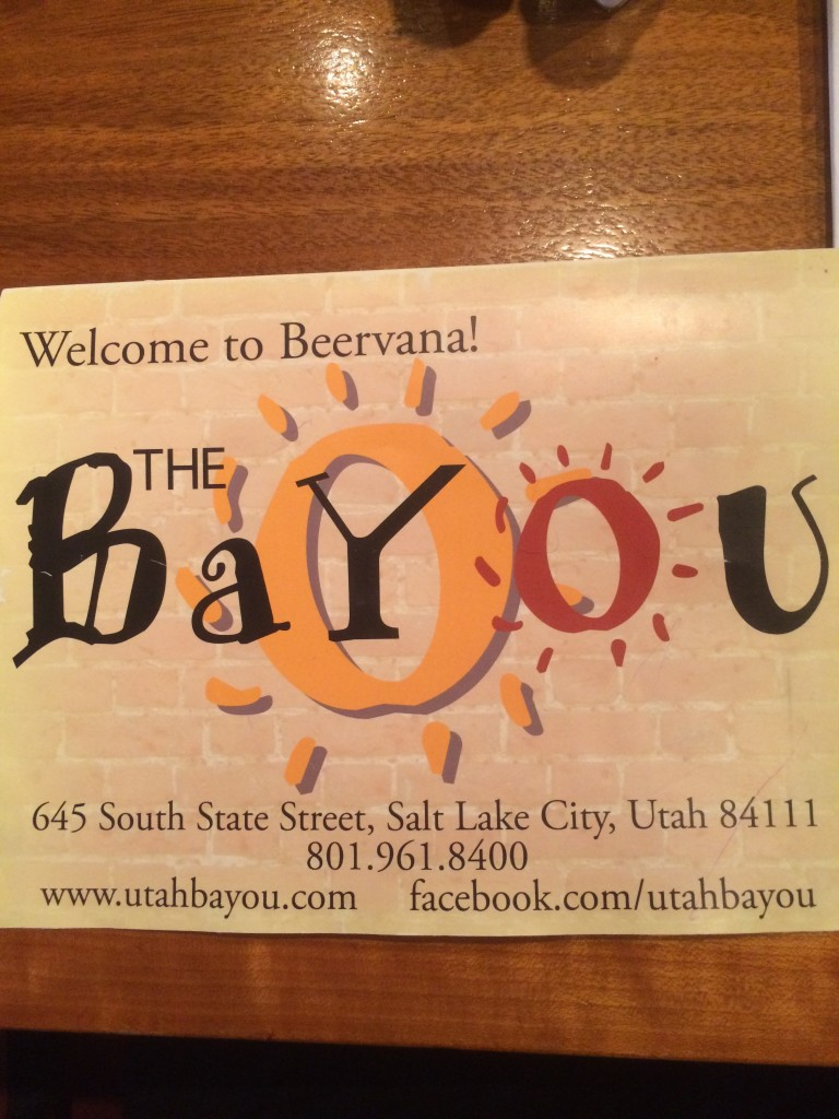 Exploring SLC: The Bayou - Food, Fun, Whatever !!