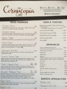 Food, Fun, Whatever!! - Exploring The Cornucopia Cafe